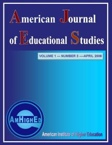 American Journal of Educational Studies